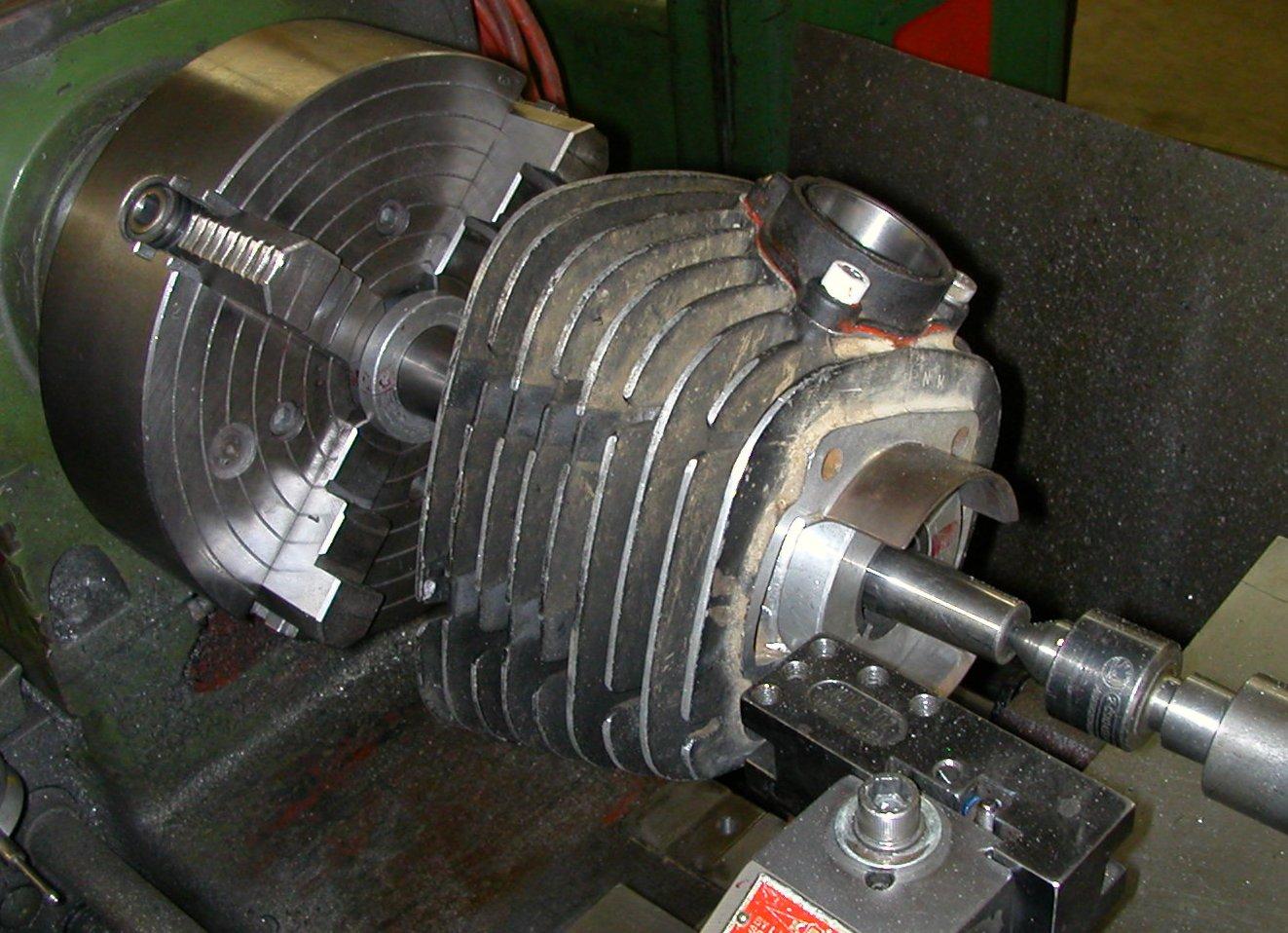 small engine bore machine
